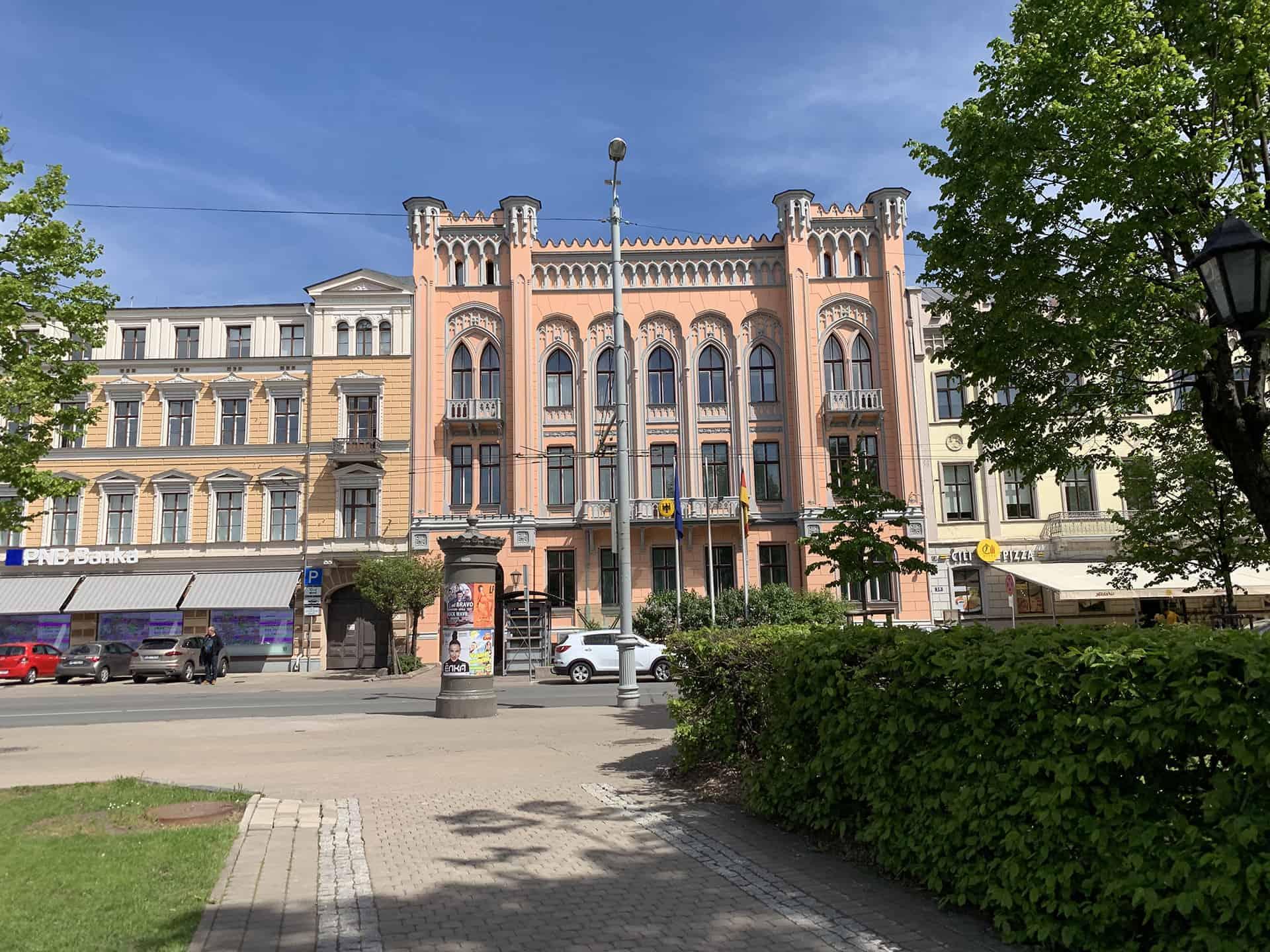 Insolvenz in Lettland Gebäude