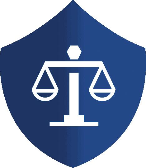 Legal und sicher Icon