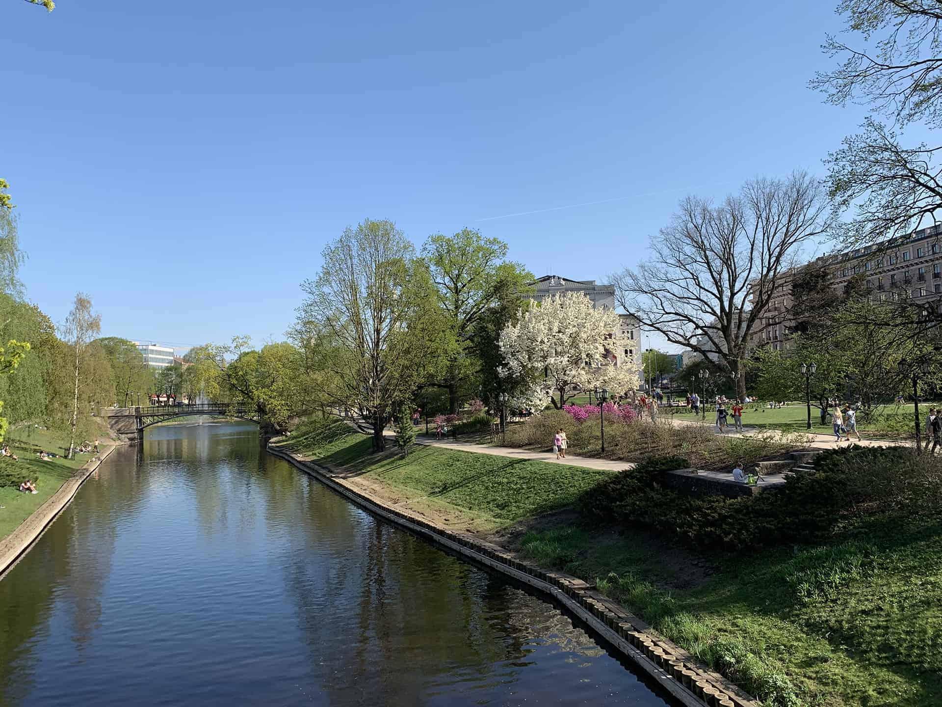 Lettland Fluss