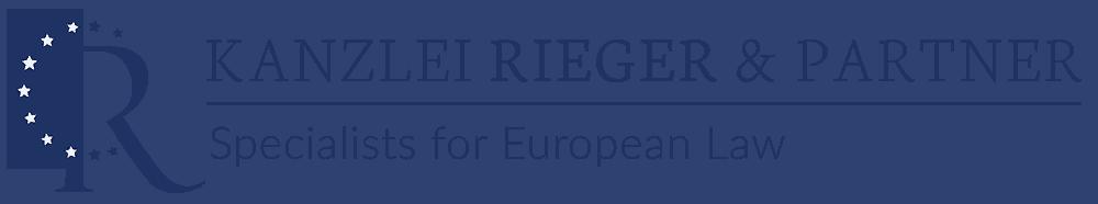 Kanzlei Rieger Logo horizontal