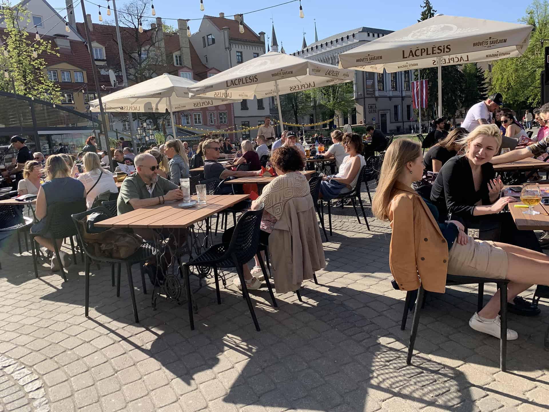 Gastronomie in Riga