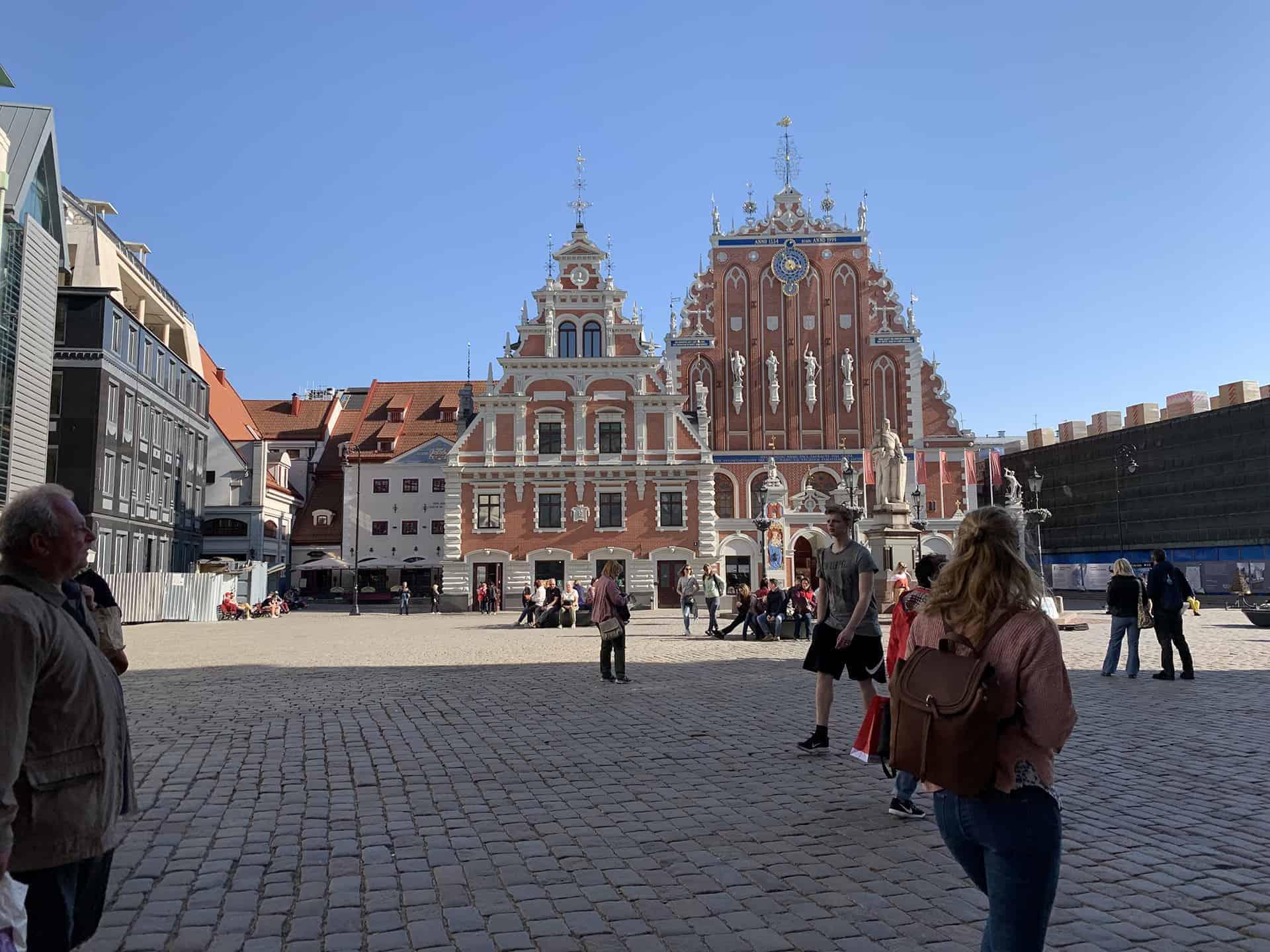 Riga Stadtplatz